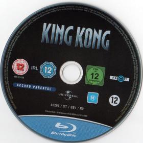 Blu-ray KING KONG Disc