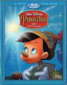 Blu-ray Pinocchio 70th Aniv -1