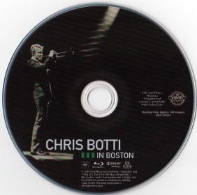 Blu-ray CHRIS BOTTI in BOSTON Disc