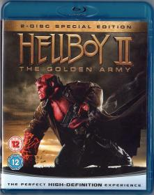 Blu-ray HELLBOY Ⅱ The Golden Army -1