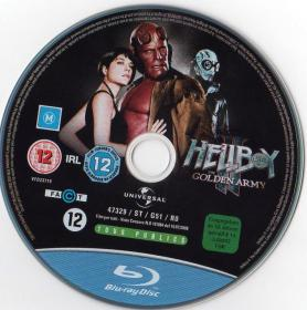 Blu-ray HELLBOY Ⅱ The Golden Army Disc