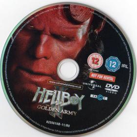 Blu-ray HELLBOY Ⅱ The Golden Army Bonus DVD