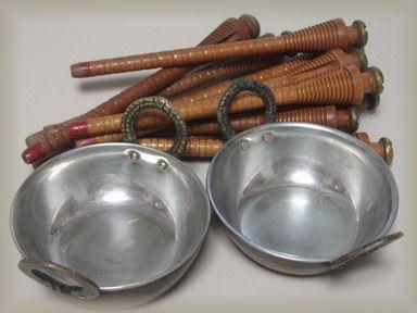 鍋・糸巻き