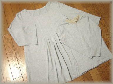 チュニックとTシャツのペア