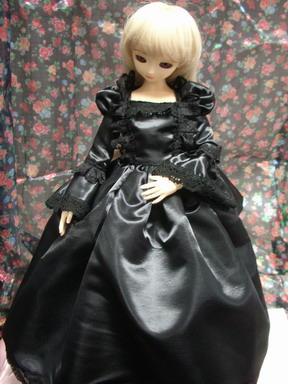 SD黒いドレス2