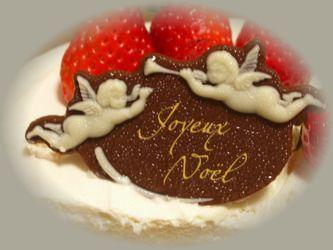 2008クリスマスケーキのチョコ