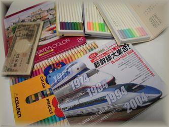 色鉛筆いろいろ