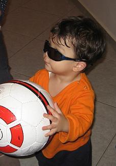 ちなみにこのサングラスは自分でかけました。甥っ子のサングラスでサイズはぴったり?