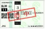 4月15日阪神11レース