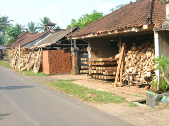 タバナン瓦の工房