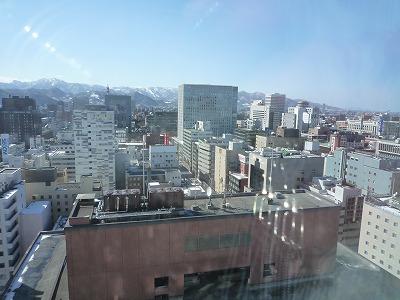 札幌の初日の朝
