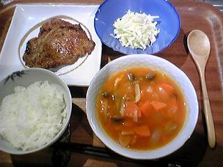 2009年3月27日夕食