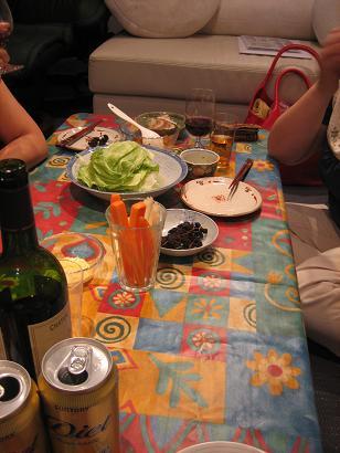 突然の来客への料理2