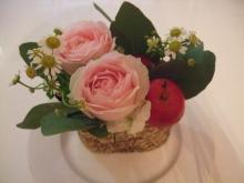 紅茶セミナー4 お花 はなあしらい