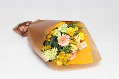 花束~黄色・オレンジ系