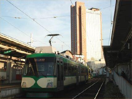 世田谷線(緑)&キャロット