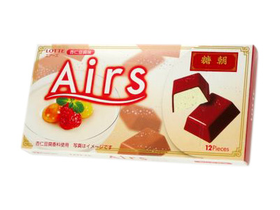 ロッテ--Airs 杏仁豆腐味。
