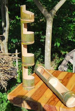 竹の花瓶素材