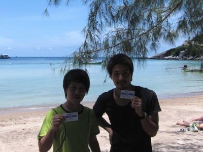 タオ島、オープンウォーター講習229