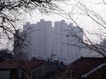 韓国の高層アパート