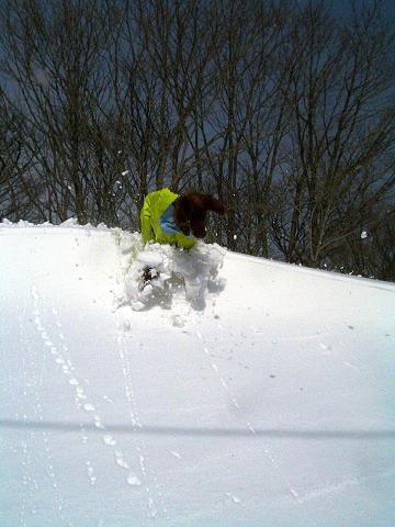 コークがスキー