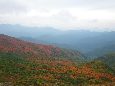 アーリー那須岳初登山(紅葉10.7) 040