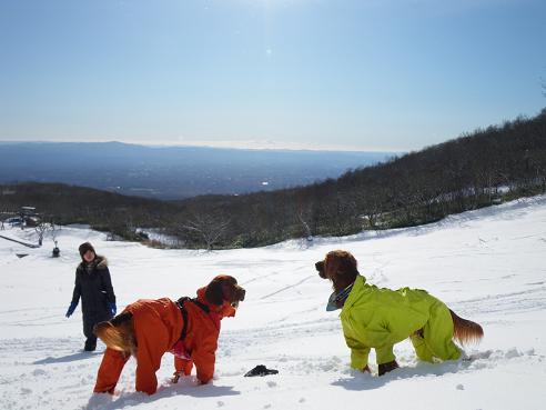 今季初の雪遊び 031
