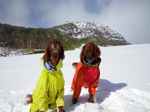 今季初の雪遊び 027