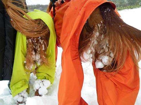 今季初の雪遊び 033