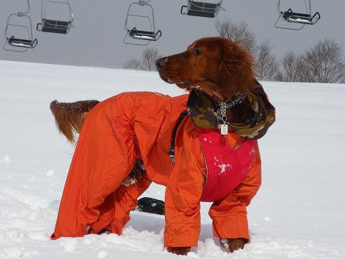 今季初の雪遊び 034