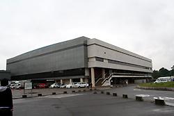 愛知県体育館。名古屋のプロレスのメッカ。