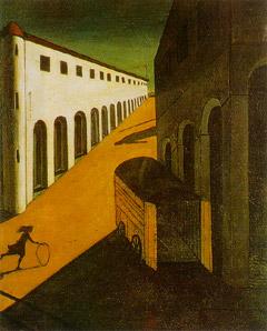 ジョルジョ・デ・キリコ「通りの神秘と憂鬱」