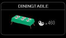 """""""DININGTABLE"""""""
