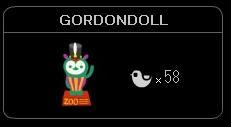 """GORDONDOLL"""