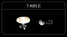 """TABLE-Tea"""