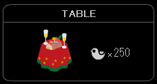 """TABLE-X'mas"""