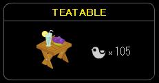 """""""TEATABLE-2"""""""