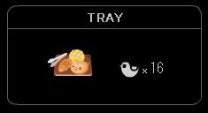 """""""TRAY-1"""""""