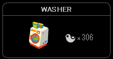 """WASHER"""