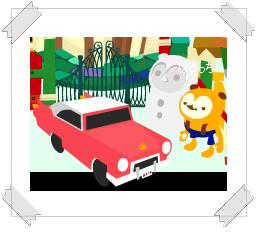 """""""雪だるまと一緒に・・・"""""""