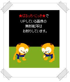 """""""ばるっちからのお願い③"""""""