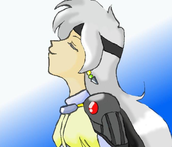 リナ002 銀髪「そう――よかった」