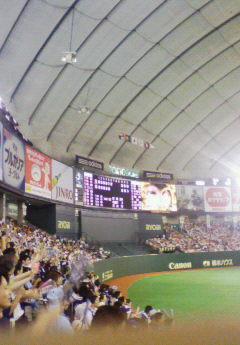東京ドームレフトスタンド