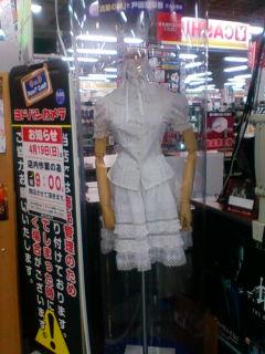 この衣装は見覚えありますね?(*^m^*) ムフッ