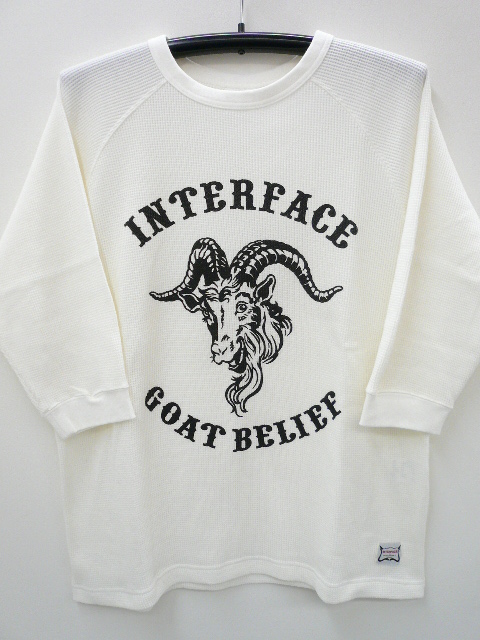 INTERFACE GOAT BELIEF THERMAL RAGLAN TEE