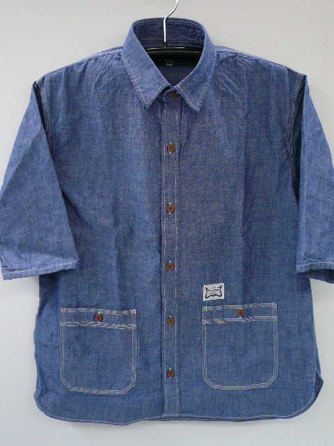 INTERFACE 3/4 CHAMBRAY SHIRTS