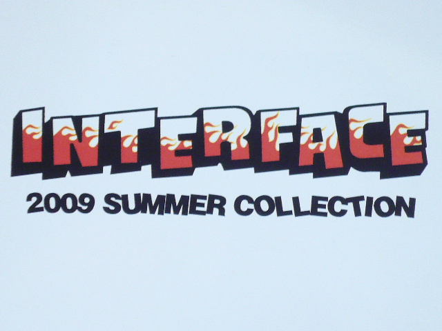 INTERFACE2009夏物展示会