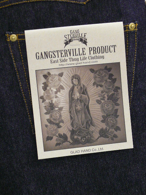 GANGSTERVILLE G.V. SELVEDGE DENIM