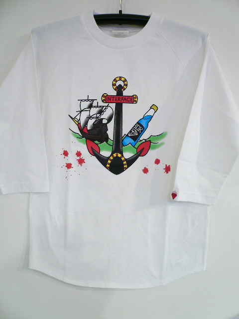 INTERFACE ANCHOR RAGLAN TEE