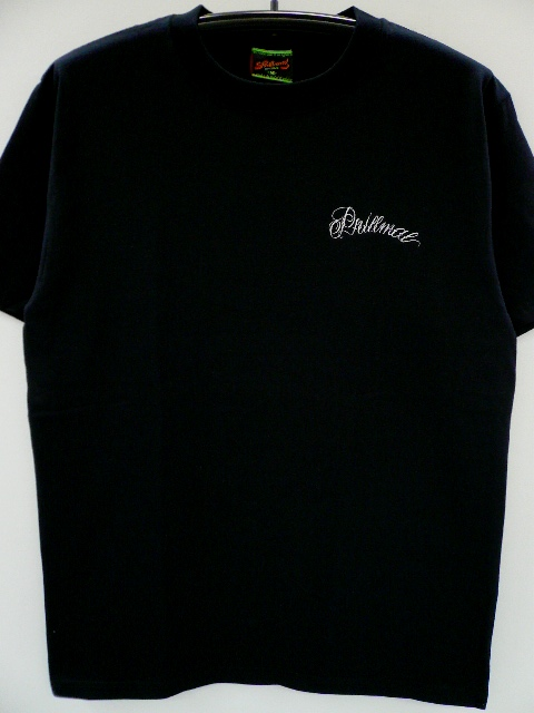 PRILLMAL ALL BLACK SCRIPT TEE